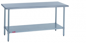 Worktables Duke Manufacturing - 8 ft stainless steel work table